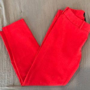 Cynthia Rowley Red Slacks